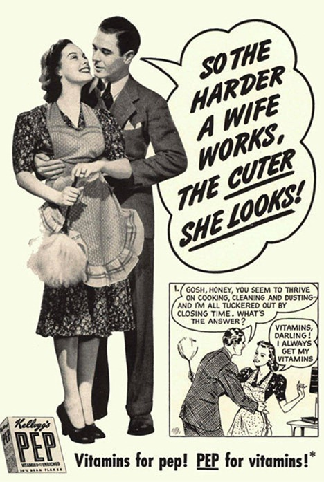 course  advertisement is still sexist but early print advertisements    Vintage Valium Advertisements